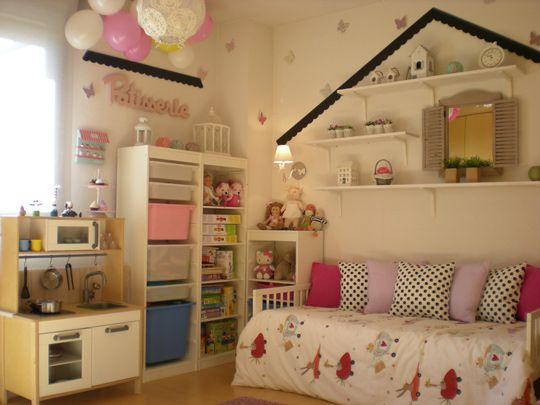 Proyecto habitación para niña de Chic Attique > Decoracion Infantil y Juvenil, Bebes y Niños
