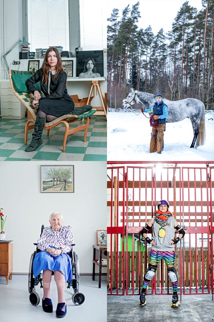 4 different women, all with the same name. Anna Andersson comes in all shapes, forms and styles and we think all of them are extremely fascinating!