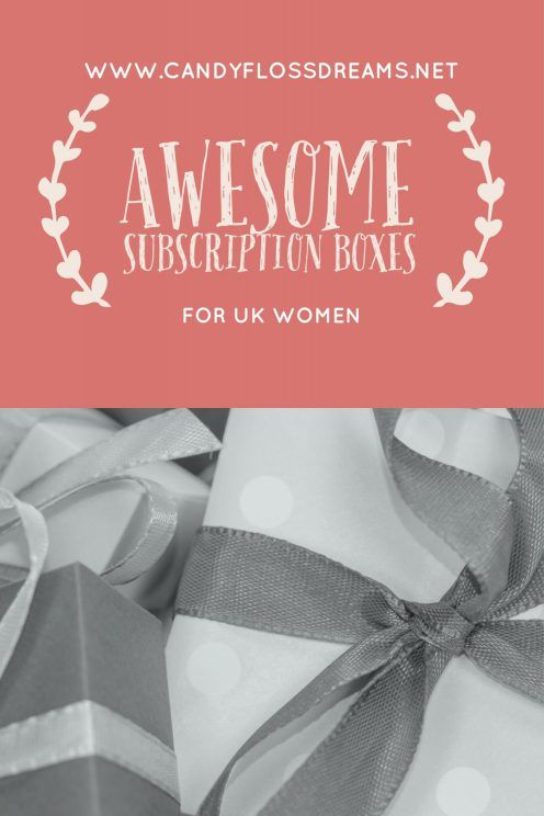 UK Subscription Boxes for Women