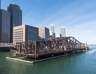 Floating Bridge by Paul Lukez Architecture in Boston, United States