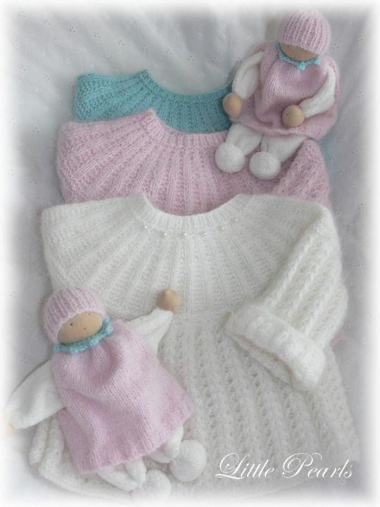 www.annastricken.at fuer Baby handarbeiten | Reborn - Babypuppen - Little Pearls - Handarbeiten - 1000