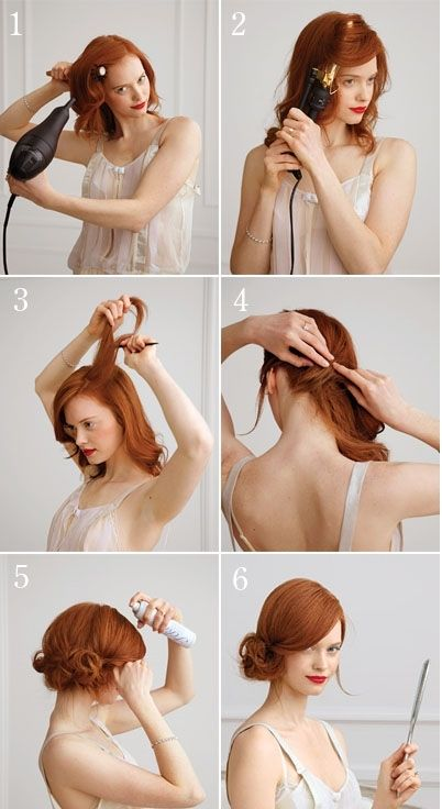 How to Style Side Chignon for Medium-Length Hair Tutorial| Hairstyle Trends For