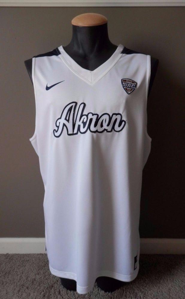 51eb5eb459c99 University of Akron Zips Nike Basketball Practice Jersey XL NCAA Team Issue  #Nike #AkronZips