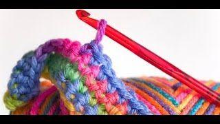 Смотреть онлайн видео 2 Урок. Подробное вязание крючком для начинающих.