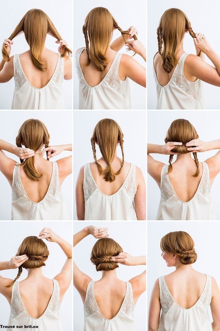 1000 Ideas About Coiffure Facile On Pinterest Coiffures Medium