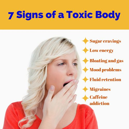 ❧ 7 Signs of a Toxic Body