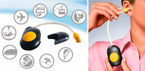 Ear Pressure Equaliser Sucks On Your Eardrum to Un-Pop It in Planes | Gizmodo…