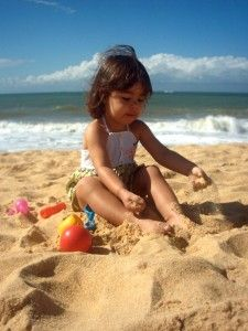 What to pack and tips for a beach vacation with a toddler
