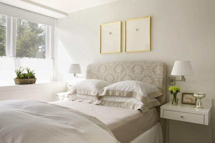 Charles Spada Beautiful Bedroom Design With Tan Damask