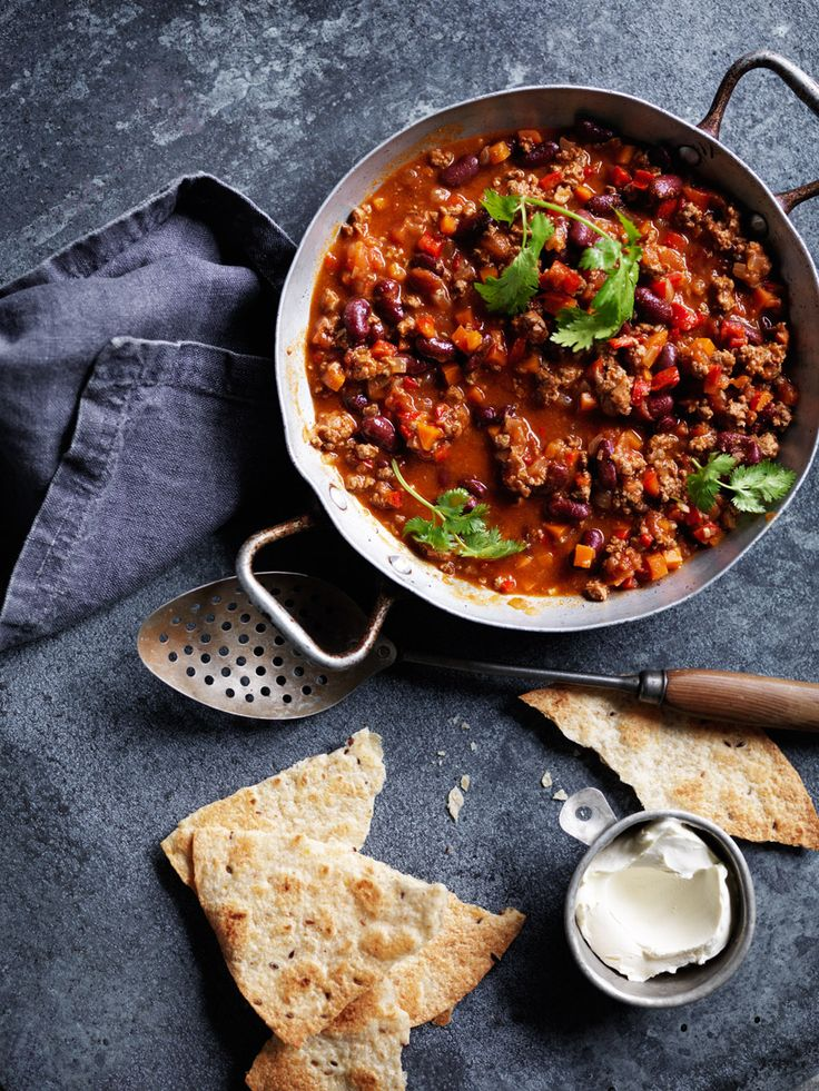 Recipes | Chilli Con Carne | Louise Fulton Keats http://samscutlerydepot.com/product/2-pcs-hight-quality-set-of-fruit-and-vegetable-pro-carving-knives-thai-fruit-vegetable-carving-knife-thai-food-art-engraving-wood-handle-tools/