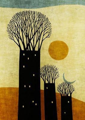 Toni Demuro tree illustration
