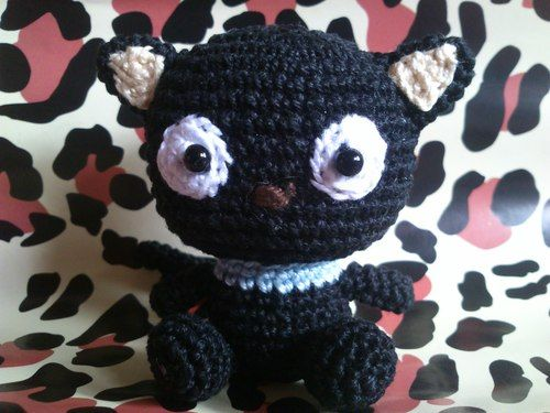Free Little Kitty Cat Amigurumi Crochet Pattern And Tutorial : 1000+ images about chococat on Pinterest Dibujo, Free ...
