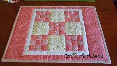 Tovaglietta patchwork quadrati