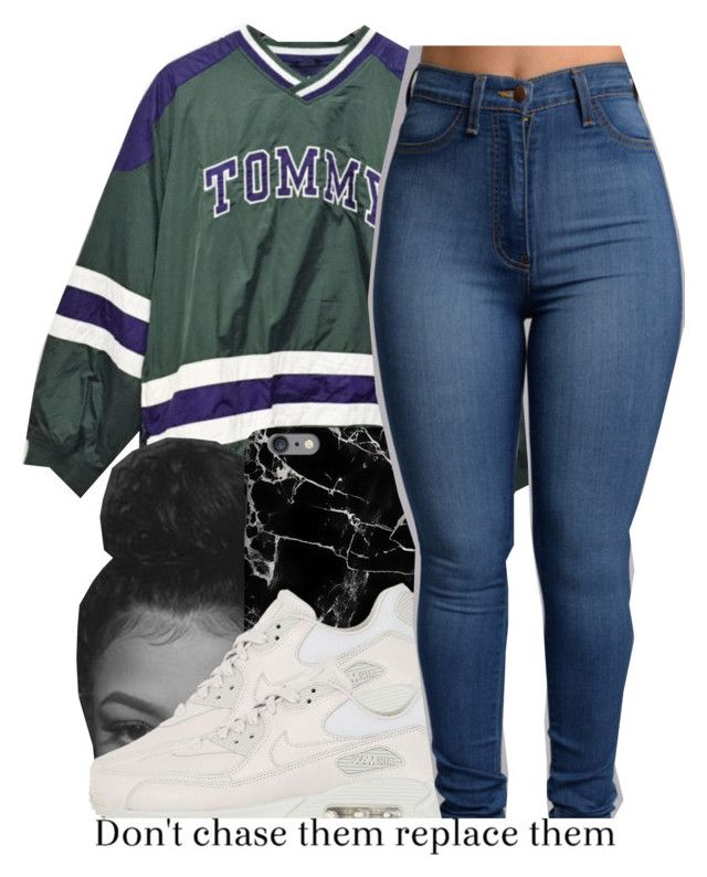 """Big Poppa"" by queen-vanessa ❤ liked on Polyvore featuring NIKE"