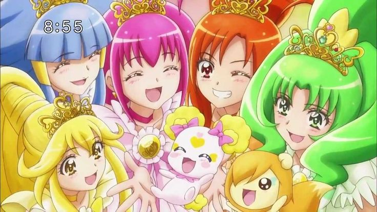 Smile Pretty Cure! Princess Form! Rainbow Burst! - YouTube