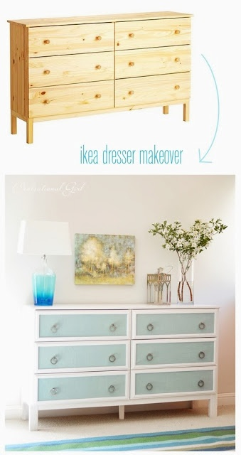 idea buy some 'unpainted finish' solid wood furniture and paint to match the room.........