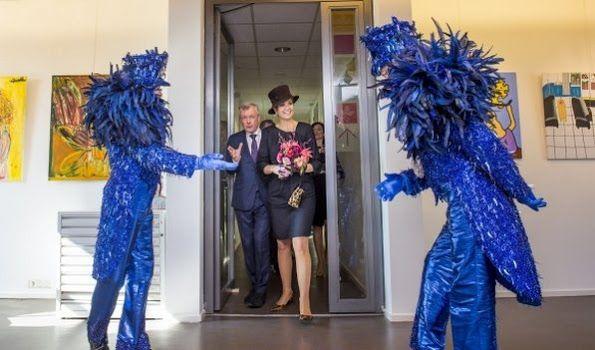 Dutch Queen Maxima opens the Outsider Art Museum