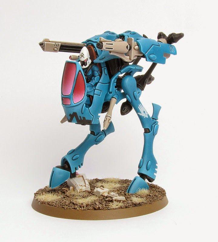 40k - Eldar War Walker of Iybraesil by Stahly