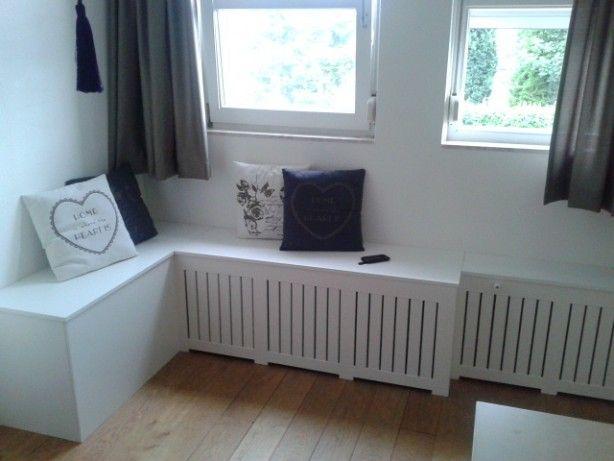 radiator ombouw en meteen bankje