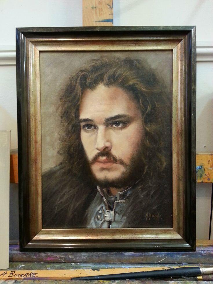John Snow  Oil on canvas