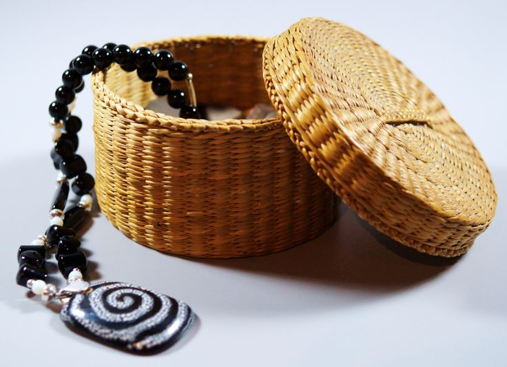 Clay Tablet with Onyx & Sterling Silver