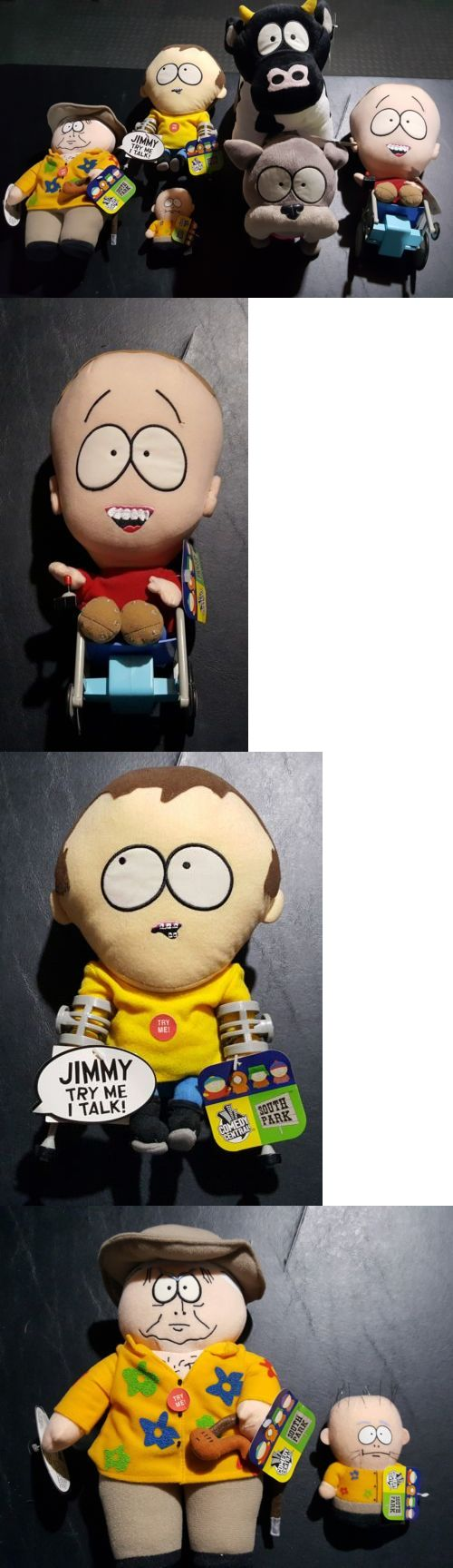 South Park 20918: Lot Of 5 South Park Plush, Timmy, Jimmy, Cow, Sparky, Mephesto And Kevin Nwt -> BUY IT NOW ONLY: $50 on eBay!