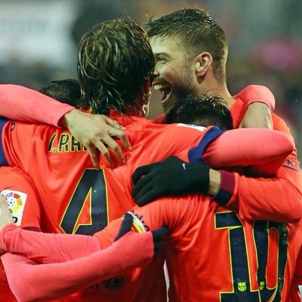 65 puntos   Eibar 0-2 Barca   Liga 2014-2015. [14.03.15]
