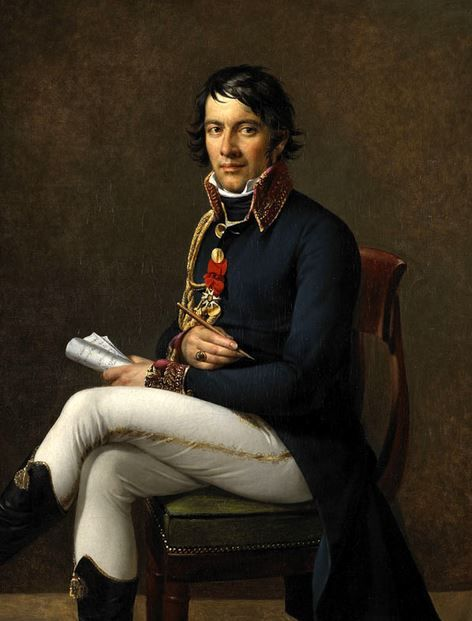 Portrait of Baron Larrey (1800's) by Marie-Guillemine Benoist.