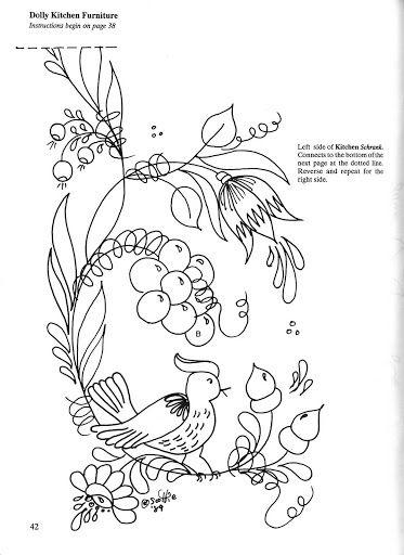 bavarian folk art coloring pages - photo#45