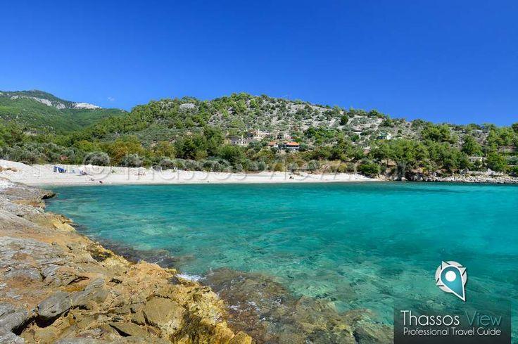 Thimonia Beach, Beaches of Thassos, www.thassos-view.com