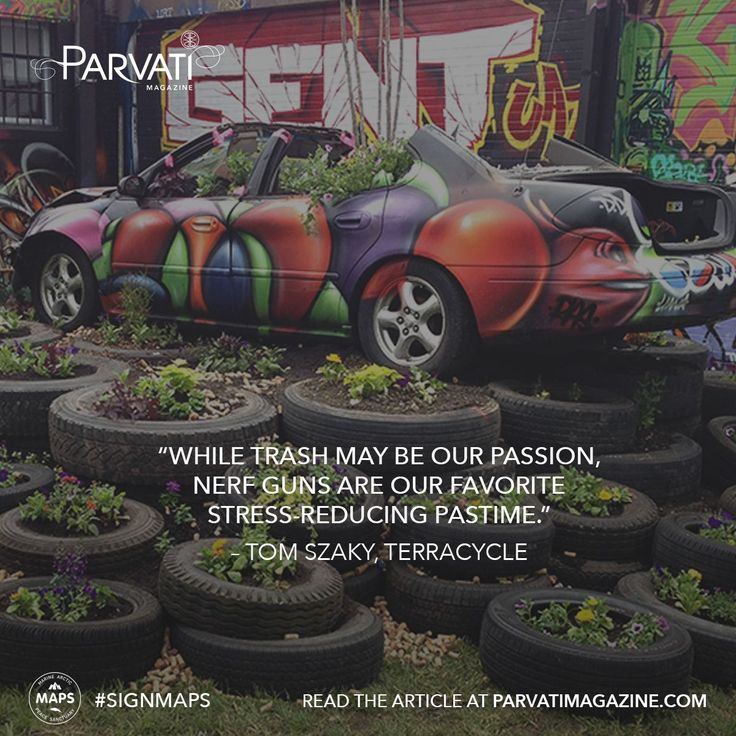 Who says you can't turn trash into treasure? TerraCycle has risen the standards of taking hard-to-recycle materials and making them anew, across the world! Read their interview with Parvati Magazine here!  Stop pursuit of extraction from the Arctic. Sign the the MAPS: Marine Arctic Peace Sanctuary petition at parvati.org now!
