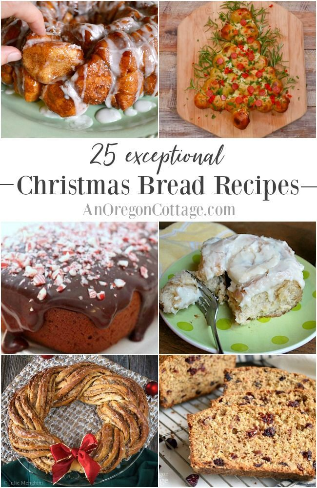 25 Exceptional Christmas Bread Recipes Christmas Bread Food