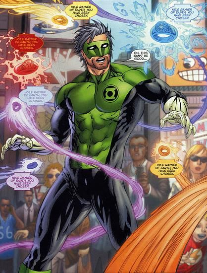 green lantern kyle rayner - Google Search