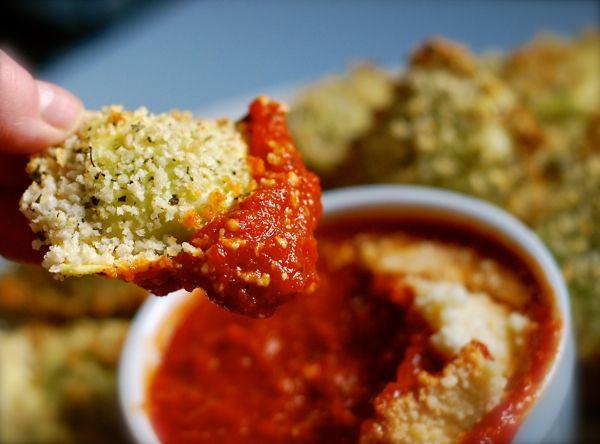 oven-toasted ravioli | ChinDeep