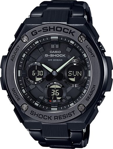 "Not really a fan of the G-shock bulky ""too much"" design but the new G-steel models are not bad..... and apparently just as indestructable.... G-Shock G-Steel"