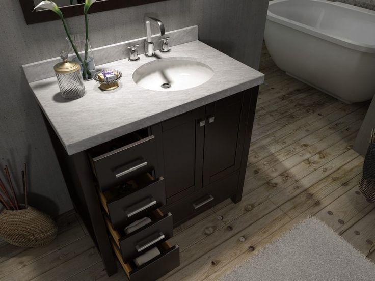 Best 25 42 inch bathroom vanity ideas on Pinterest  42 inch vanity Single sink bathroom