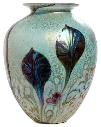 Eden Amphora vase Emerald