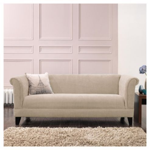 Buy Millie Large Fabric Sofa Mink From Our Sofas Range