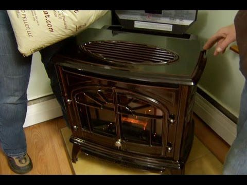 How to Install a Pellet Stove - This Old House They use New England Wood Pellets! Nothing but the BEST on This Old House