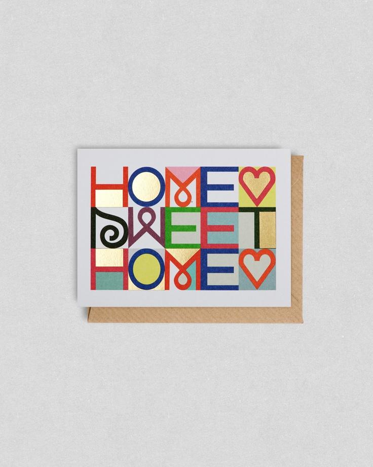 Home Sweet Mini Card
