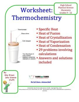 Printables Exothermic And Endothermic Reactions Worksheet 1000 ideas about exothermic reaction on pinterest chemical thermochemistry practice problems this worksheet consists of 29 that are typical for