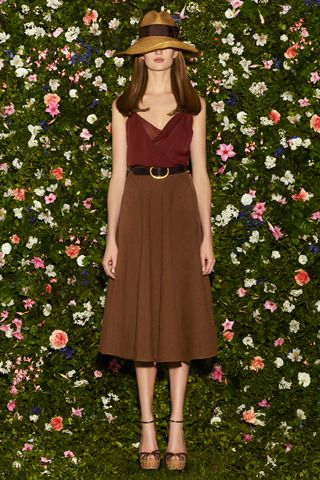Gucci Resort 2013. I adore this skirt and effortless top. This whole look is everything.