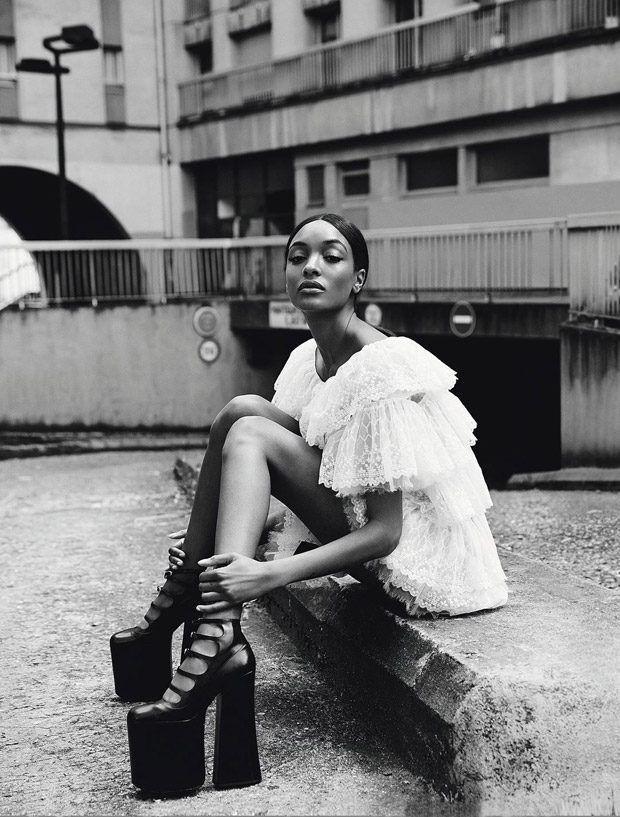 Supermodel Jourdan Dunn Covers Madame Figaro Latest Edition