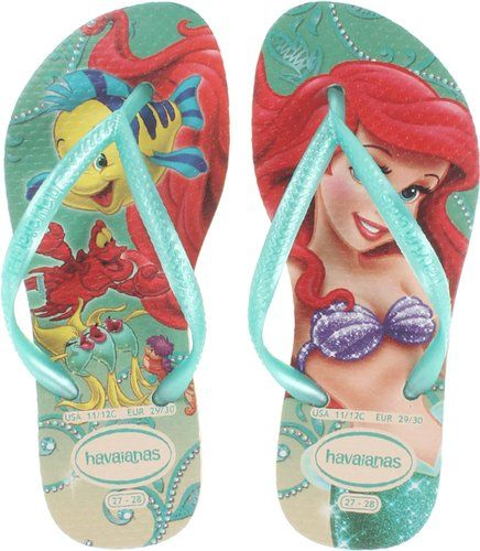 Zapatos azules La Bella Durmiente Havaianas Slim Princess infantiles ZmhA2eMz8e