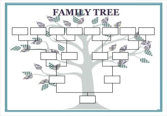 Family Tree Template Word | Family Tree Template Free ...