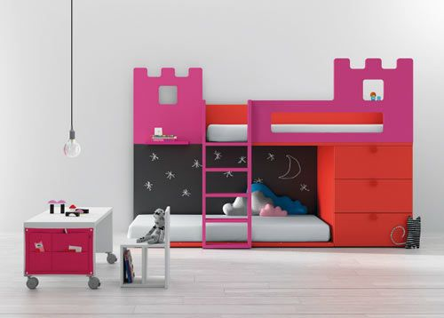 You should look at all of their kids' furniture...great design, tons of color, very playful and so efficient!!