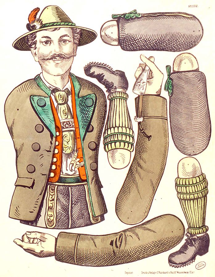 EKDuncan - My Fanciful Muse: Articulated Paper Dolls - Vintage and New