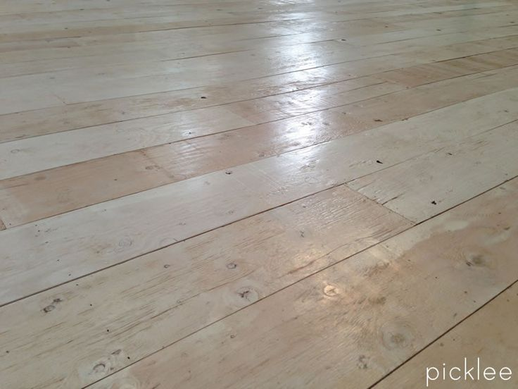 Plywood White Farmhouse Floor. That's right- plywood. 300 dollars for 450 square feet.