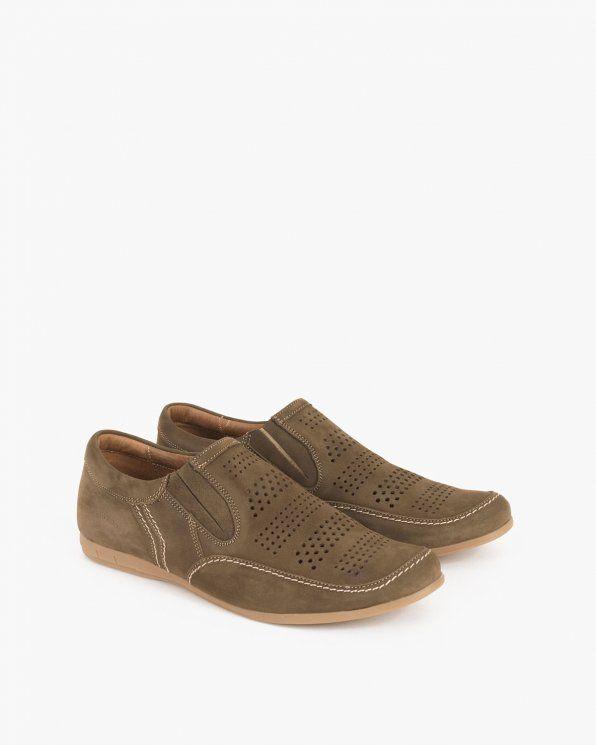 Polbuty Letnie 071 396 D Oliwk Shoes Slip On Sneaker Sneakers