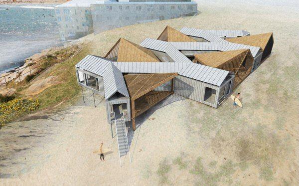 Экологичная архитектура дизайн интерьера EcoHome